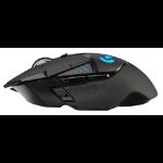 Logitech G G502 mouse RF Wireless 16000 DPI Right-hand