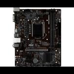 MSI H310M PRO-VH PLUS motherboard LGA 1151 (Socket H4) Micro ATX Intel® H310