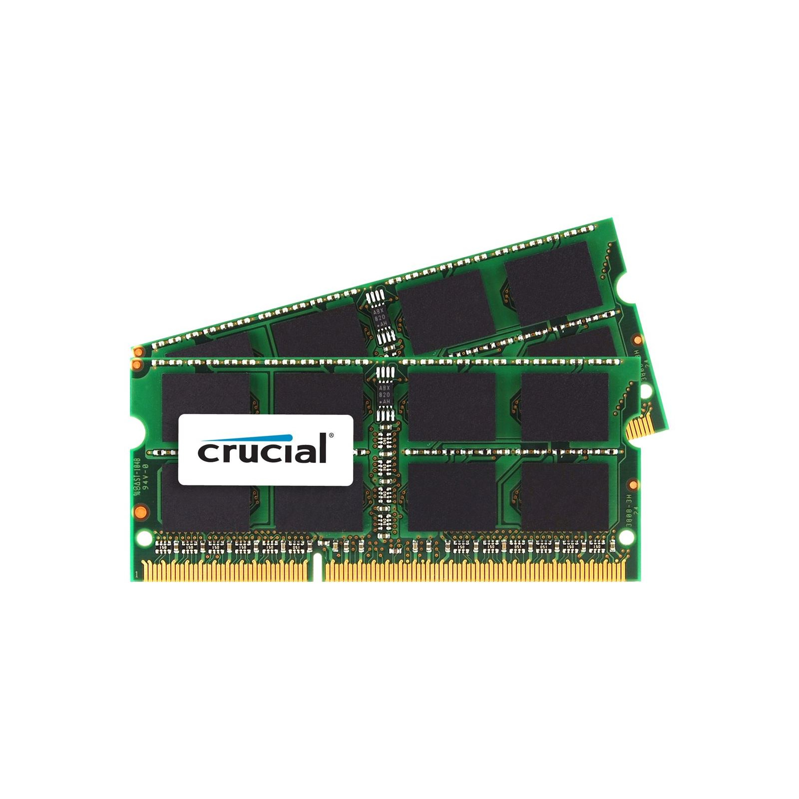 Crucial 16GB (2x8GB) DDR3-1600 SO-DIMM CL11 16GB DDR3 1600MHz memory module