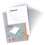 Rexel Nyrex™ A4 Cut Back Folders Clear (25)