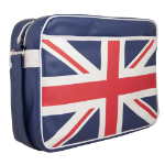 Urban Factory Vintage Collection United Kingdom Flag Laptop Bag with Shoulder Strap for up to 12 Inch Devices, UK