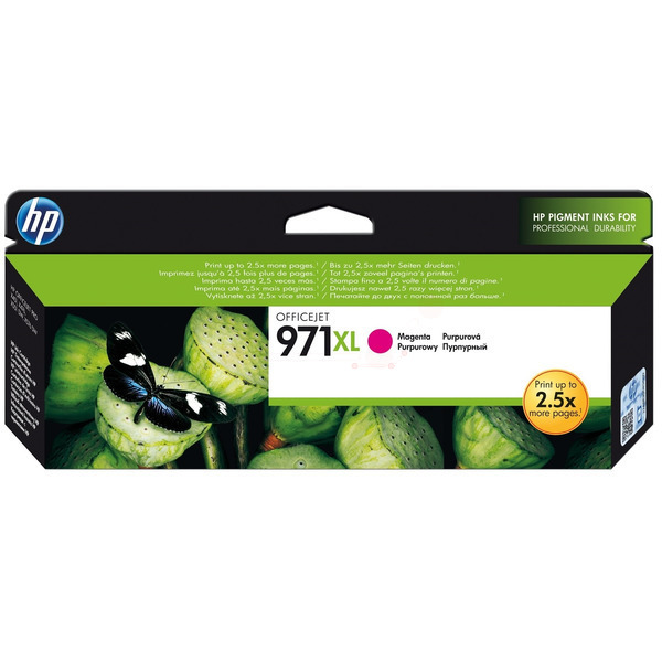 HP CN627AE (971XL) Ink cartridge magenta, 6.6K pages, 81ml