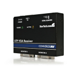StarTech.com VGA Cat5 Receiver Black