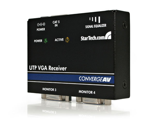 Vga/ Cat5 Utp Receiver (st121r)