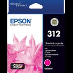 EPSON 312 Magenta Ink Claria Photo HD,  XP-8500, XP-15000