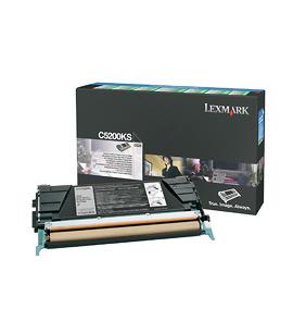 Lexmark C5200KS cartucho de tóner Original Negro 1 pieza(s)