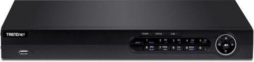 Trendnet TV-NVR416 network video recorder 1U Black