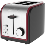 Zanussi ZST-6579-RD toaster 2 slice(s) 800 W Grey, Red