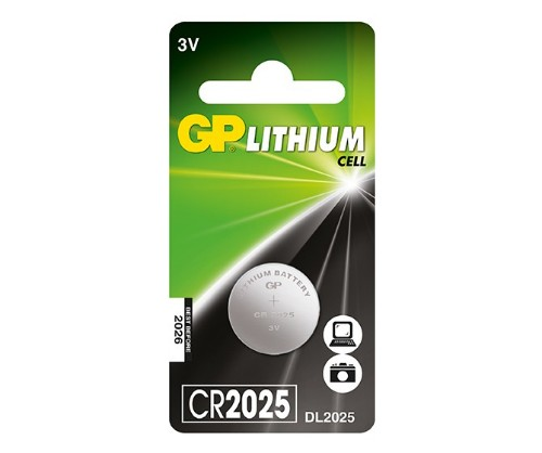 GP Batteries Lithium Cell CR2025 Single-use battery