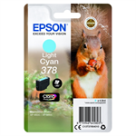Epson C13T37854010 (378) Ink cartridge bright cyan, 360 pages, 5ml