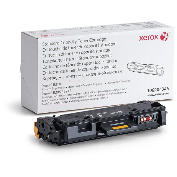 Xerox 106R04346 Toner black, 1.5K pages