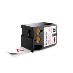 DYMO 1868759 Red on white label-making tape