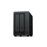 Synology DiskStation DS720+ data-opslag-server NAS Desktop Ethernet LAN Zwart J4125