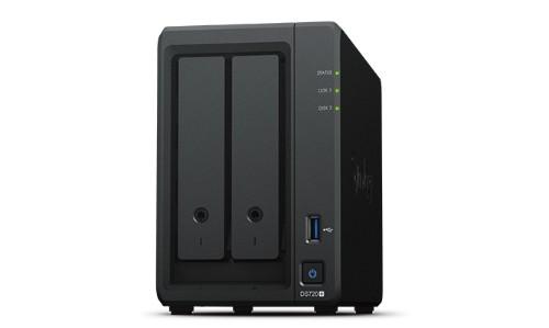 Synology DiskStation DS720+ NAS/storage server Desktop Ethernet LAN Black J4125