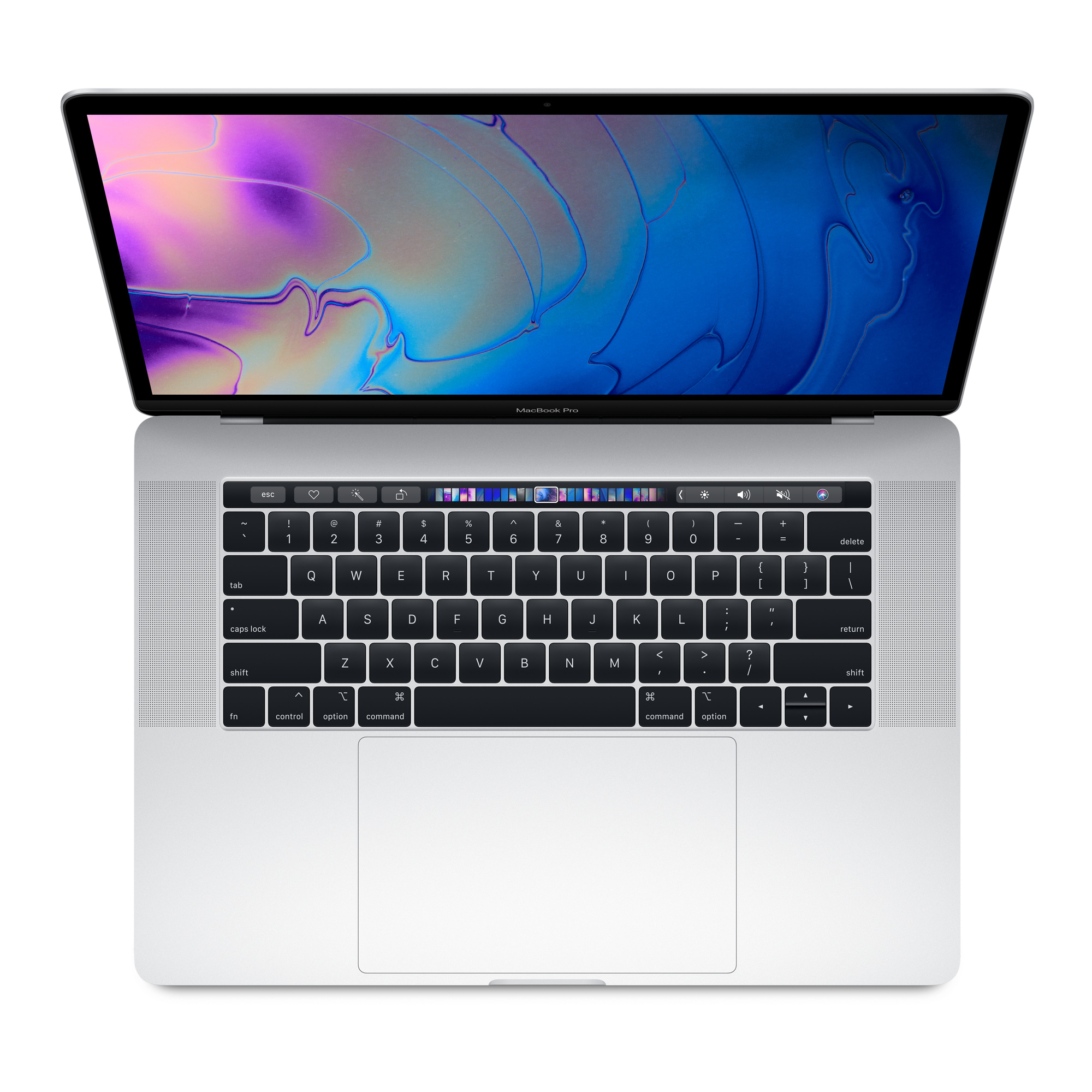 MacBook Pro - 15in - i7 2.2GHz - 16GB Ram - 256GB SSD - Touch Bar And Touch Id -radeon Pro 555x With 4GB Gddr5 - Silver - Qwerty Uk