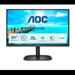 """AOC B2 24B2XDM computer monitor 60.5 cm (23.8"""") 1920 x 1080 pixels Full HD LCD Black"""