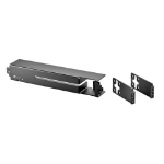 Hewlett Packard Enterprise 2930F 8-port Cable Guard Cable floor protection Black