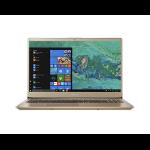 "Acer Swift 3 SF315-52-876Q Gold Notebook 39.6 cm (15.6"") 1920 x 1080 pixels 1.80 GHz 8th gen Intel® Core™ i7 i7-8550U"