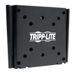 "Tripp Lite DWF1327M 27"" Black flat panel wall mount"