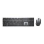 DELL KM7321W keyboard RF Wireless + Bluetooth US English Gray, Titanium