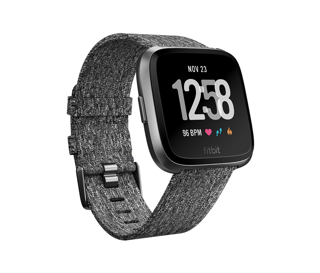 "Fitbit Versa - Special Edition smartwatch Graphite LCD 3.4 cm (1.34"") GPS (satellite)"