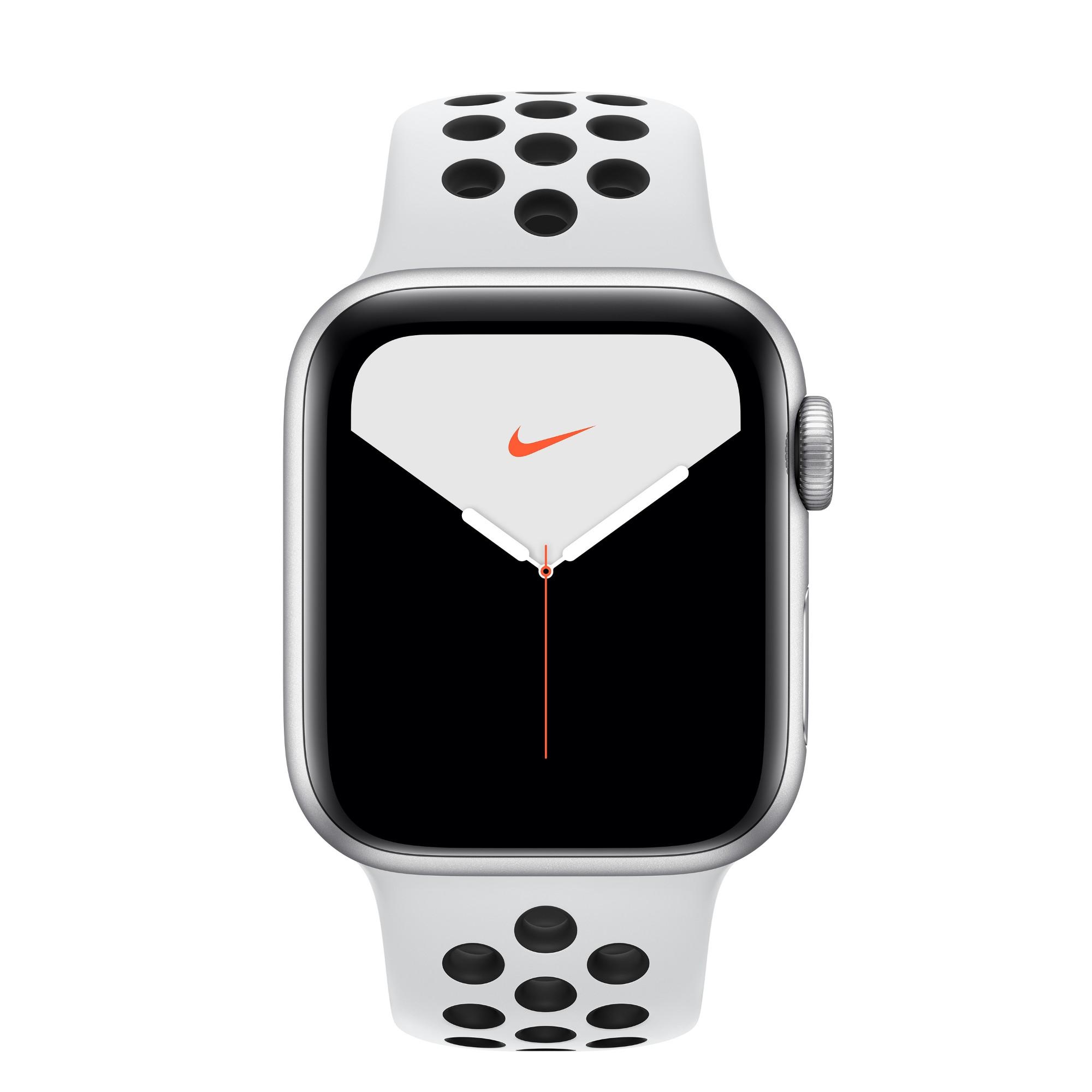 Apple Watch Nike Series 5 smartwatch Silver OLED GPS satellite
