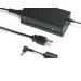 Getac GAAFE3 adaptador e inversor de corriente Interior 90 W Negro