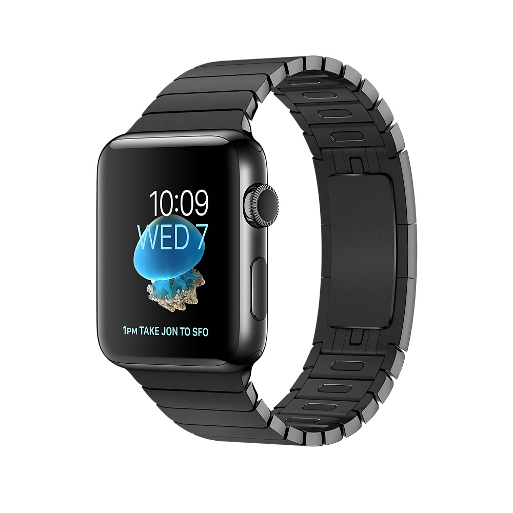 Apple Watch Series 2 OLED 52.4g Black smartwatch