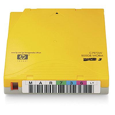 Hewlett Packard Enterprise C7973WL LTO blank data tape