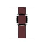 Apple 40mm Garnet Modern Buckle - Medium Band Violett Leder