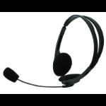 Inland Basic Headset, 3.5mm Binaural Head-band Black headset