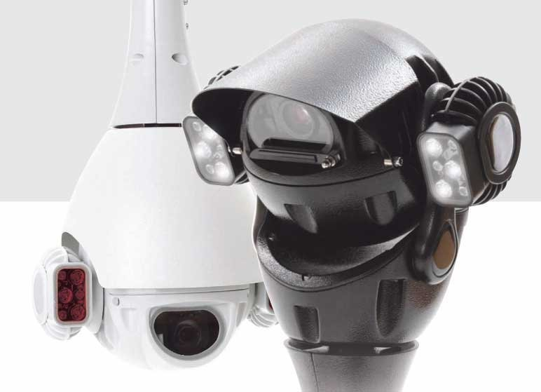 Redvision HD X SERIES 1080P 30:1 ZOOM 720P 30:1 ZOOM 720P HD BALL PTZ/FF DOME WITH IR - BLACK EXCLUD