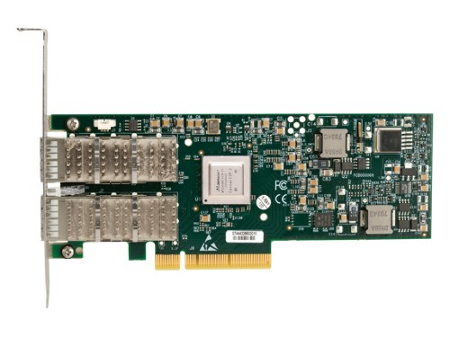 Hewlett Packard Enterprise InfiniBand 4X QDR ConnectX-2 PCIe G2 Dual Port HCA slot expander