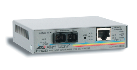 Allied Telesis AT-FS232 network media converter 100 Mbit/s