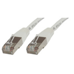 Microconnect 0.25m Cat5e RJ-45 networking cable F/UTP (FTP) White