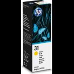 HP 31 70-ml Yellow Original Ink Bottle Origineel