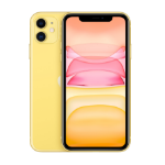 "Apple iPhone 11 15.5 cm (6.1"") 256 GB Dual SIM 4G Yellow iOS 13"