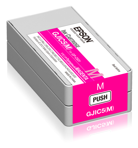 Epson GJIC5(M): Ink cartridge for ColorWorks C831 (Magenta) (MOQ=10)
