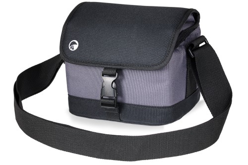 Luxmedia PABC23BKGY Compact / Bridge Camera, Camcorder & Mini Drone Bag - Grey