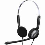 Sennheiser SH 250 Binaural Head-band Black,Silver headset