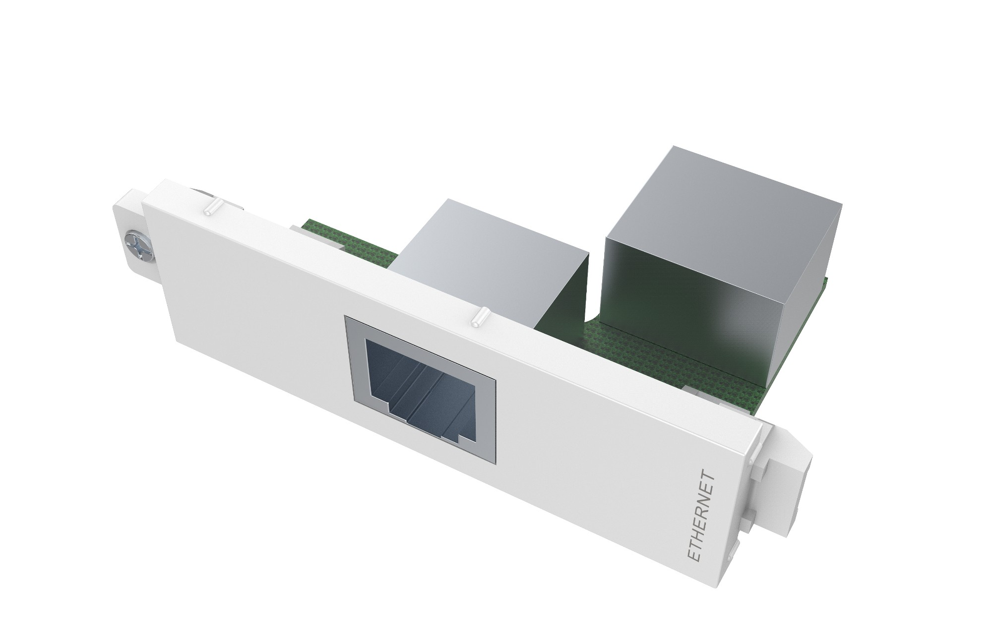 Vision TC3 RJ45 toma de corriente RJ-45 Blanco