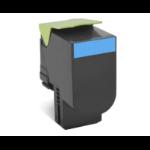 Lexmark 70C2XC0 (702XC) Toner cyan, 4K pages