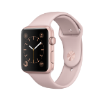 Apple Watch Series 1 OLED 30g Pink gold smartwatch