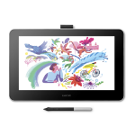 Wacom One 13 graphic tablet White 2540 lpi 294 x 166 mm USB