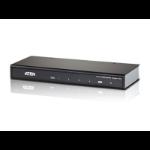 ATEN Video Splitter 4 Port HDMI 4K Splitter, HDCP 1.4. Up to 4096 x 2160 / 3840 x 2160 @ 60Hz (4:4:4)