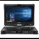 "Getac V110 G4 Hybrid (2-in-1) Black 29.5 cm (11.6"") 1366 x 768 pixels Touchscreen 7th gen Intel® Core™ i5 8 GB DDR4-SDRAM 256 GB SSD Wi-Fi 5 (802.11ac) Windows 10 Pro"