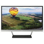 "HP Pavilion 24cw 23.8"" Full HD IPS Black,Silver computer monitor"