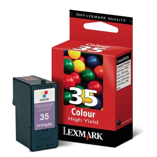 Lexmark 18C0035E (35XL) Printhead color, 450 pages, 21ml