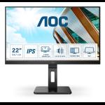 """AOC P2 22P2Q LED display 54.6 cm (21.5"""") 1920 x 1080 pixels Full HD Black"""