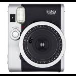Fujifilm instax mini 90 NEO CLASSIC 62 x 46mm Black,Stainless steel instant print camera